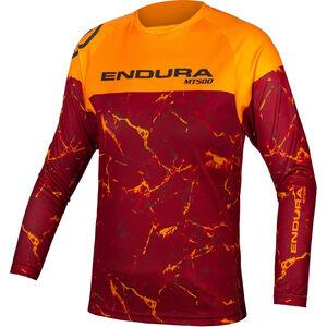 Endura MT500 LTD Langarmshirt Kinder mandarin mandarin