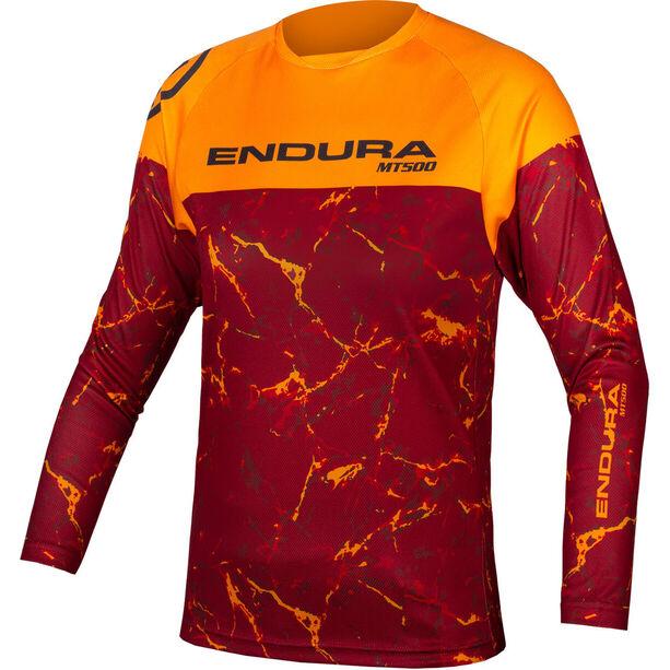 Endura MT500 LTD Langarmshirt Kinder mandarin