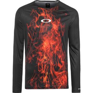 Oakley MTB LS Tech Tee Herren flames flames