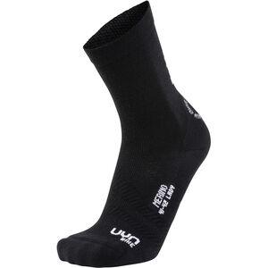 UYN Cycling Merino Socks Damen black/white black/white