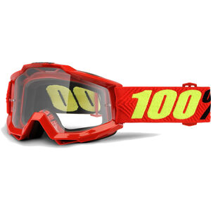 100% Accuri OTG Anti Fog Clear Goggles saarinen saarinen