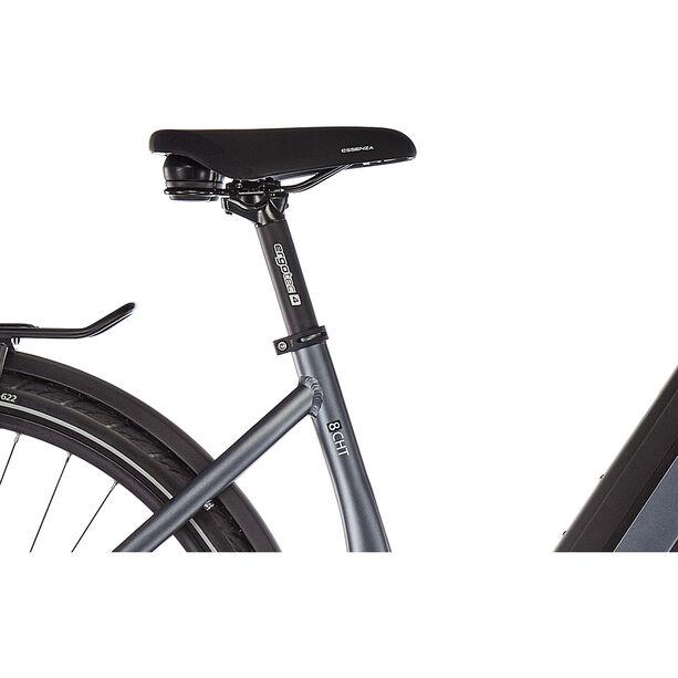 e-bike manufaktur 8CHT Wave 48er Revolution Disc Gates dunkelsilber matt