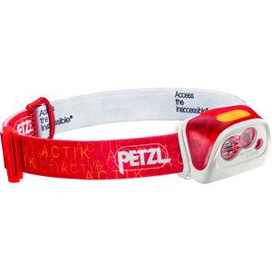 Petzl Actik Core Stirnlampe rot rot