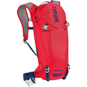 CamelBak T.O.R.O. Protector 8 Trinkrucksack dry racing red/pitch blue dry racing red/pitch blue