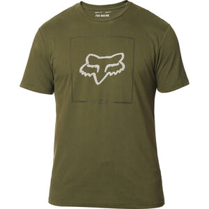 Fox Chapped Airline Kurzarm T-Shirt Herren olive green olive green