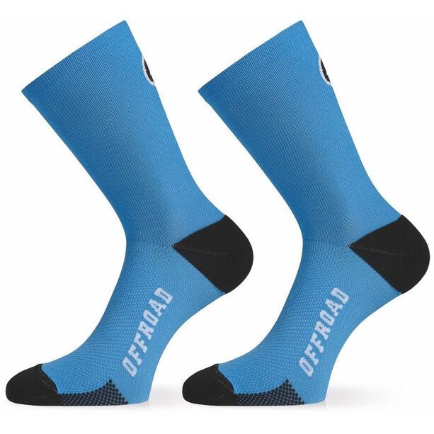 assos XC Socks corfu blue