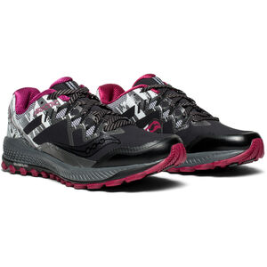saucony Peregrine 8 Ice+ Shoes Damen black/white black/white
