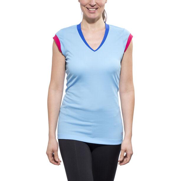 GORE RUNNING WEAR SUNLIGHT 4.0 Shirt Damen ice blue/jazzy pink