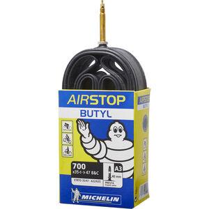 Michelin A3 Airstop Fahrradschlauch 28 Zoll weiß/blau