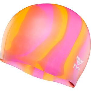 TYR Silicone Cap orange/pink orange/pink