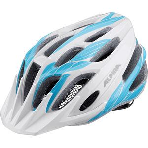 Alpina FB Jr. 2.0 Helmet white-cyan bei fahrrad.de Online