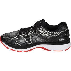 asics Gel-Nimbus 20 Shoes Men Black/Red Alert bei fahrrad.de Online