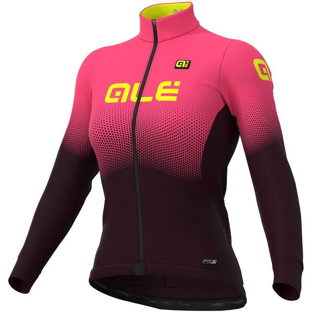 Alé Cycling PR-S Onda Micro Jersey Damen prune-fluo pink