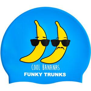 Funky Trunks Silicone Swimming Cap cool bananas cool bananas