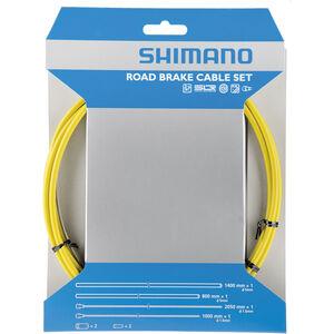 Shimano Road Bremszugset SIL-TEC beschichtet gelb bei fahrrad.de Online
