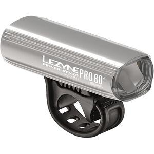 Lezyne Power Pro 80 Frontlicht StVZO Y11 silber-glänzend/weiß silber-glänzend/weiß