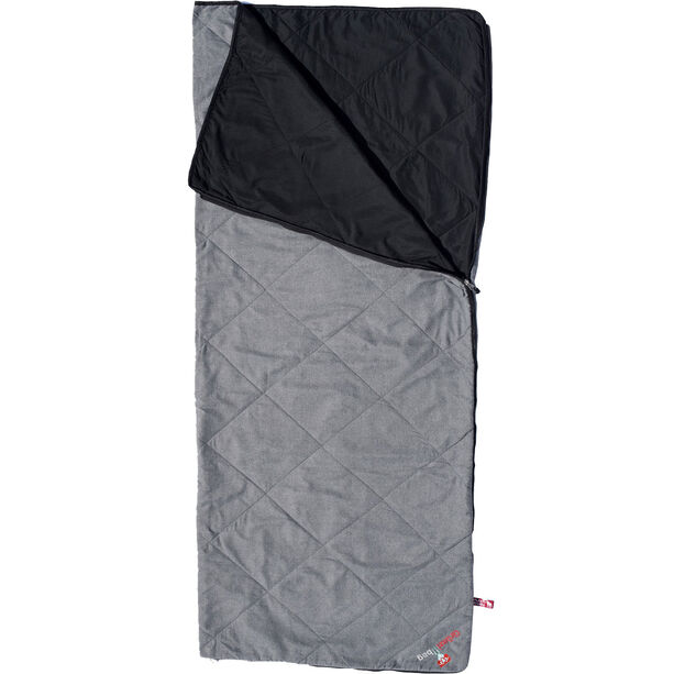 Grüezi-Bag WellhealthBlanket Wool Sleeping Bag grey melange