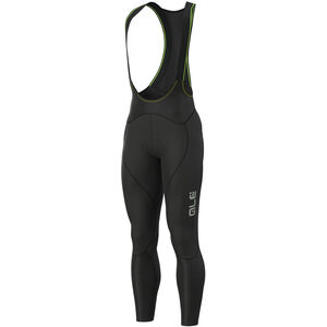 Alé Cycling Clima Protection 2.0 Warm Reflective Trägerhose Herren black black