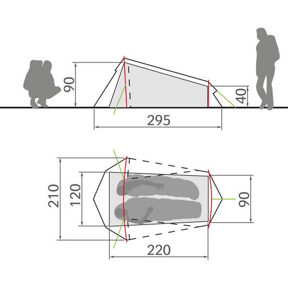 VAUDE Arco 1-2P Tent