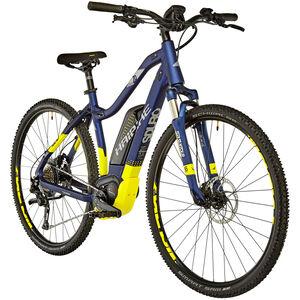 HAIBIKE SDURO Cross 7.0 Damen Blau/Gelb/Silber matt bei fahrrad.de Online