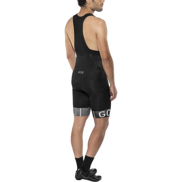GORE WEAR C5 Optiline Bib Shorts Herren black/white