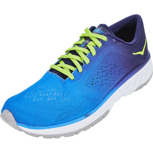 Hoka One One Cavu 2 Running Shoes Herren french blue/lime green french blue/lime green