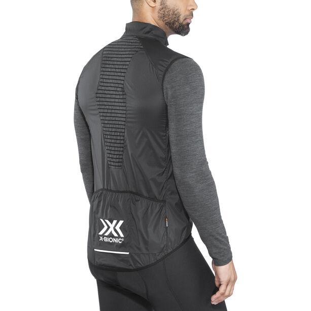 X-Bionic Biking Man Spherewind Pro Ow Vest Herren black / white
