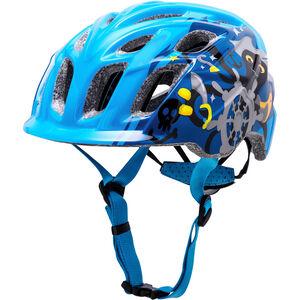 Kali Chakra Helm Kinder blau blau