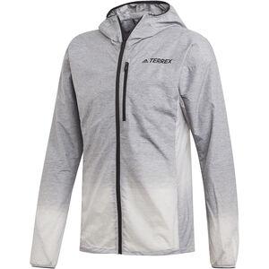 adidas TERREX Agravic Windweave Jacket Herren grey four/white grey four/white