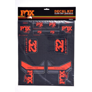 Fox Racing Shox Decal 2017 AM Step-Cast Kit red red