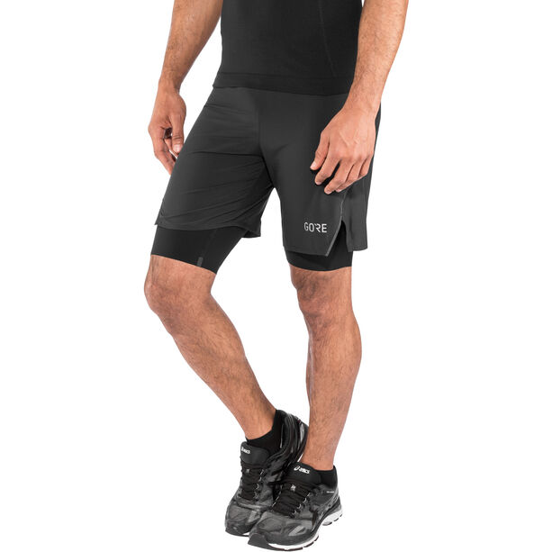 GORE WEAR R7 2in1 Shorts Herren black