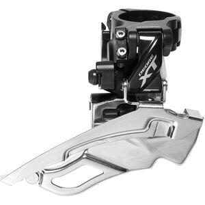 Shimano Deore XT Trekking FD-T8000 Umwerfer Schelle hoch 3x10 Down Swing schwarz schwarz