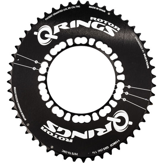 Rotor Q-Ring Road Aero Kettenblatt 110mm 5-Arm außen bei fahrrad.de Online