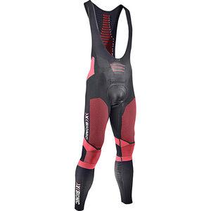 X-Bionic Effektor Power Biking Bib Tights Long Herren black/red black/red