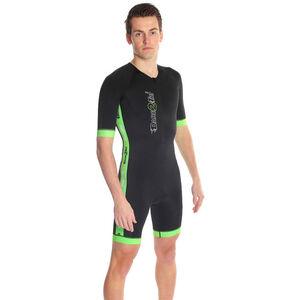 Dare2Tri Coldmax SS Tri Suit Herren black/green black/green