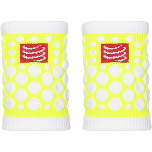 Compressport 3D Dots Sweatbands fluo yellow fluo yellow