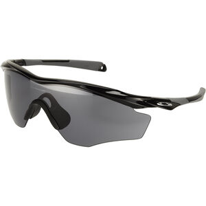 Oakley M2 Frame XL Sonnenbrille polished black/grey polished black/grey