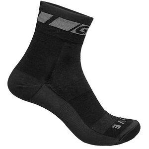 GripGrab Merino Regular Cut Socks black black