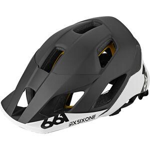 SixSixOne EVO AM Patrol MIPS Helm black/white black/white
