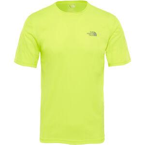 The North Face Flex S/S Shirt Men Dayglo Yellow bei fahrrad.de Online