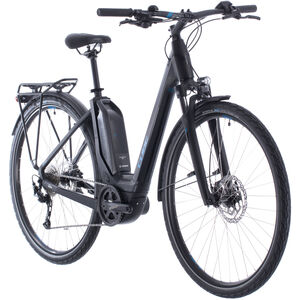 Cube Touring Hybrid One 500 Easy Entry black/blue black/blue