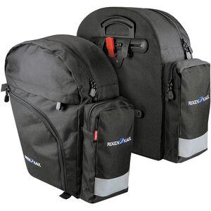 KlickFix Backpack Packtaschen schwarz bei fahrrad.de Online