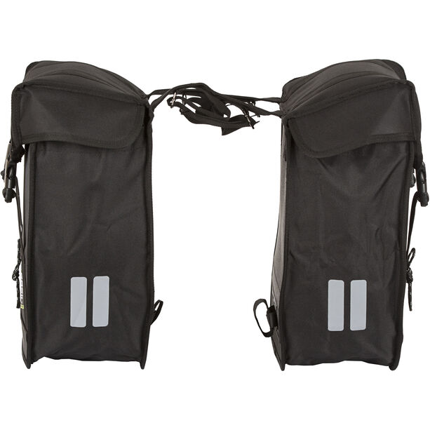 Basil Tour Double Pannier Bag XL schwarz