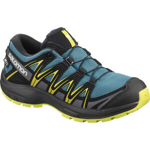 Salomon XA Pro 3D CSWP Shoes Kinder lyons blue/black/sulphur spring lyons blue/black/sulphur spring
