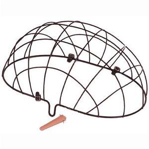 Basil Pluto Front Wheel Animal Basket wire mesh schwarz schwarz