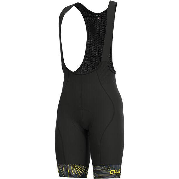 Alé Cycling Graphics PRR Sunset Bib Shorts Herren black-yellow flou