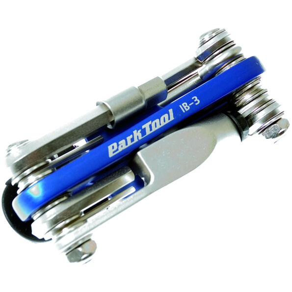 Park Tool IB-3 I-Beam Mini-Faltwerkzeug silber/blau
