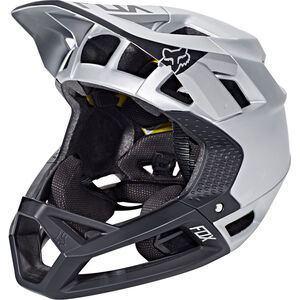 Fox Proframe Moth Helmet Men Black/Silver bei fahrrad.de Online