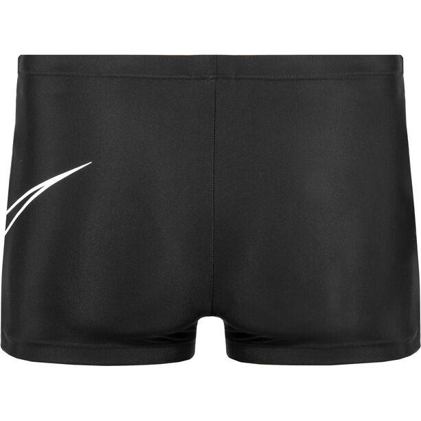 Nike Swim Outline Swoosh Square Leg Herren black