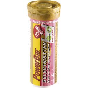 PowerBar 14 Electrolytes Zero Calorie Sports Drink Tabs 10 Stück Pink Grapefruit mit Koffein